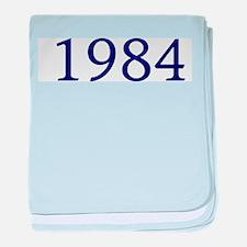 1984 baby blanket