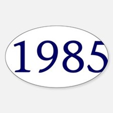 1985 Sticker (Oval)