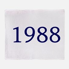 1988 Throw Blanket