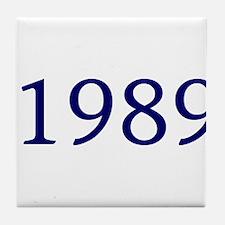 1989 Tile Coaster