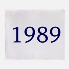 1989 Throw Blanket