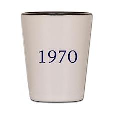 1970 Shot Glass