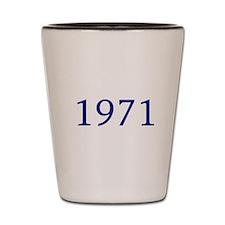 1971 Shot Glass