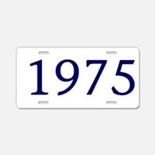 1975 Aluminum License Plate