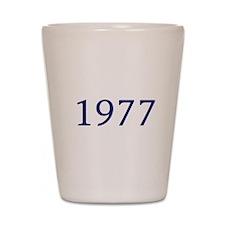 1977 Shot Glass