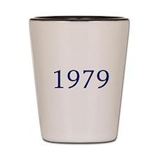 1979 Shot Glass