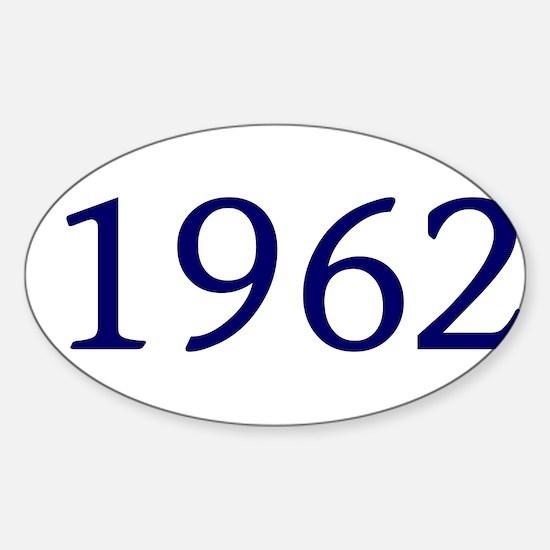 1962 Sticker (Oval)