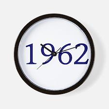 1962 Wall Clock