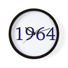 1964 Wall Clock