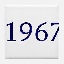 1967 Tile Coaster