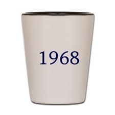 1968 Shot Glass