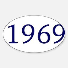 1969 Sticker (Oval)