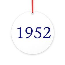 1952 Ornament (Round)