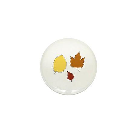 Autumn Leafs Mini Button (10 pack)