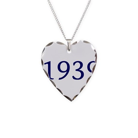 1939 Necklace Heart Charm