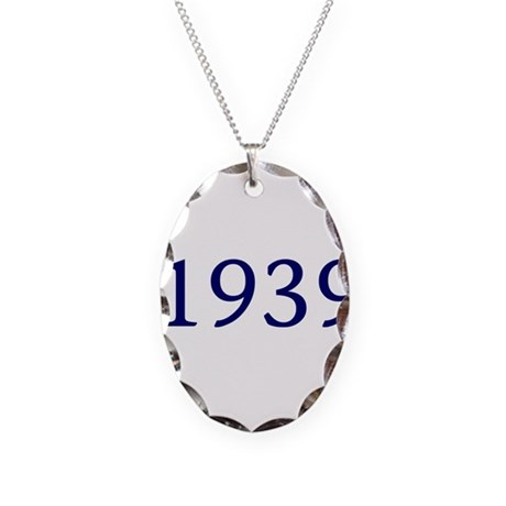 1939 Necklace Oval Charm