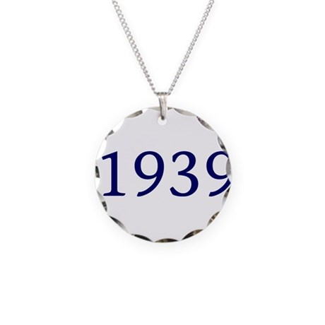 1939 Necklace Circle Charm