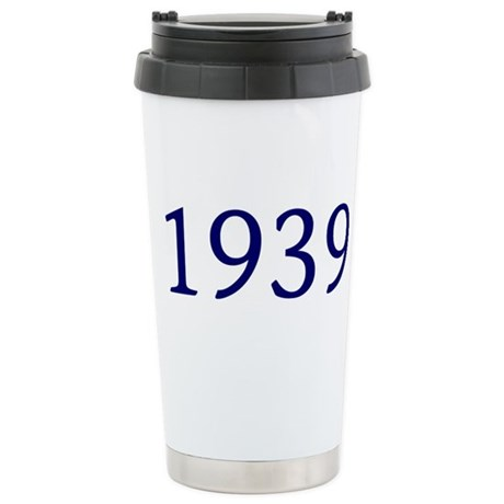 1939 Stainless Steel Travel Mug