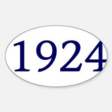 1924 Decal