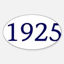 1925 Decal