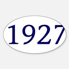 1927 Decal