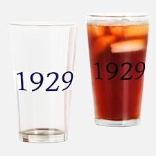 1929 Drinking Glass