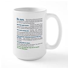 Worship a Librarian Mugs