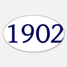 1902 Sticker (Oval)