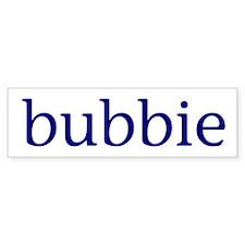 Bubbie Car Sticker