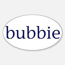Bubbie Sticker (Oval)