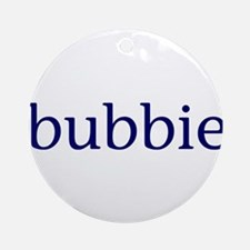 Bubbie Ornament (Round)