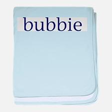 Bubbie baby blanket
