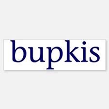 Bupkis Car Car Sticker