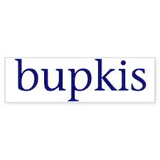 Bupkis Car Sticker