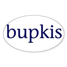 Bupkis Decal