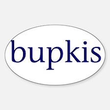 Bupkis Sticker (Oval)