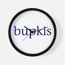 Bupkis Wall Clock