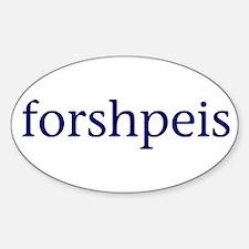 Forshpeis Decal