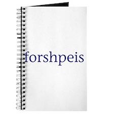Forshpeis Journal