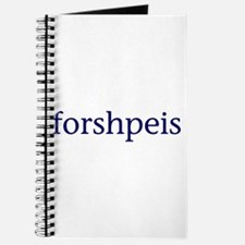 Forshpeis Journal