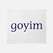 Goyim Throw Blanket