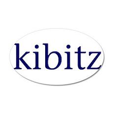 Kibitz 22x14 Oval Wall Peel