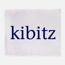 Kibitz Throw Blanket