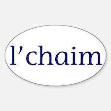l'chaim Sticker (Oval)