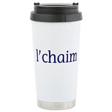 l'chaim Travel Mug