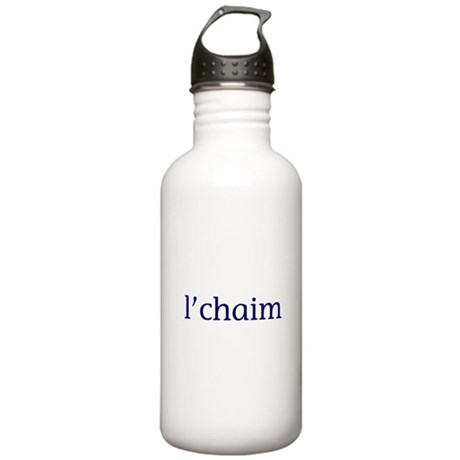 l'chaim Stainless Water Bottle 1.0L