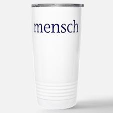 Mensch Stainless Steel Travel Mug