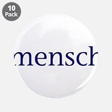 """Mensch 3.5"""" Button (10 pack)"""
