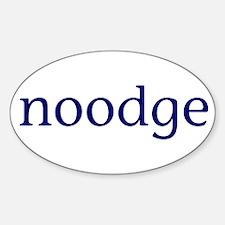 Noodge Sticker (Oval)