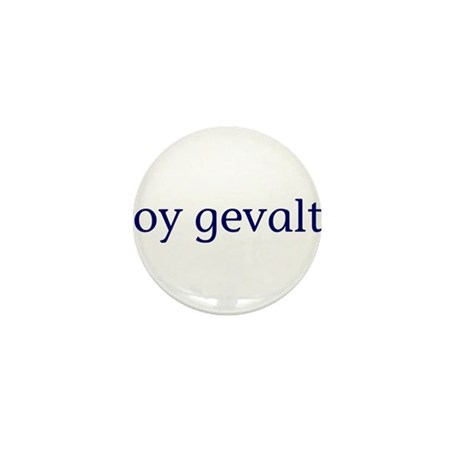 Oy Gevalt Mini Button (100 pack)